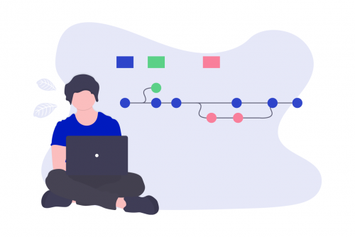 バージョン管理の図