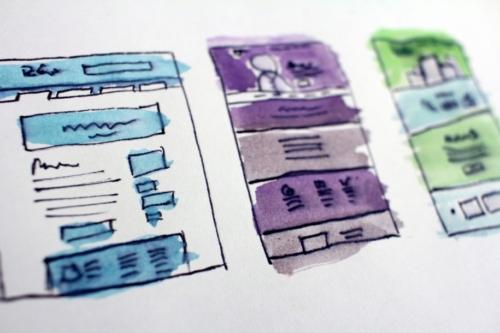 【Webデザイン】ホームページのレイアウトパターンを分類分けしてみた